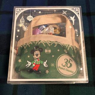 ディズニー(Disney)のディズニー 35周年 クリスマス ミニバッグ付きチョコレート(菓子/デザート)