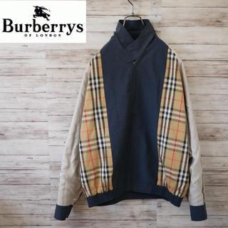 BURBERRY - Burberry ノバチェック スウィングトップ ブルゾン オールドバーバリー