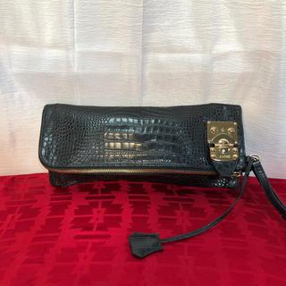 ダナキャランニューヨーク(DKNY)のDKNY ダナキャラン クロコ調 クラッチバッグ 正規品(クラッチバッグ)