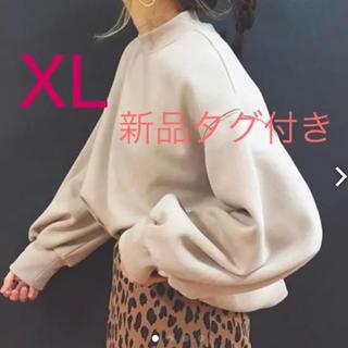 GU - モックネックスウェット XL