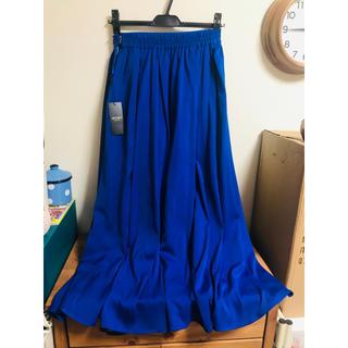 ジェットセット(JET SET)の【新品最安値】JETSET SOLO PLUS ロング スカート ブルー(ロングスカート)