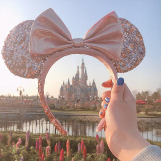 Disney - 上海ディズニー★ミニーカチューシャ