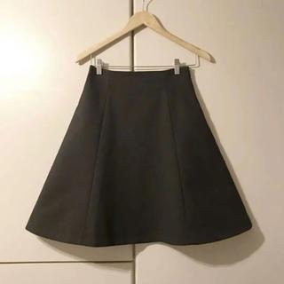 イエナ(IENA)のIENA フレアスカート Aラインスカート(ひざ丈スカート)