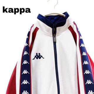 Kappa - 古着 希少 90s カッパ サイドライン  トラック ジャケット