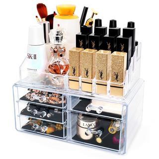 化粧品収納ボックス メイク収納ケース