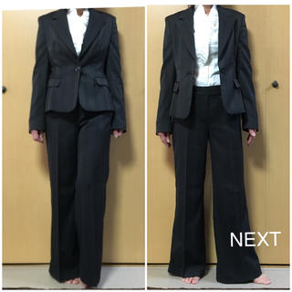 美品 Next ワイドパンツスーツ