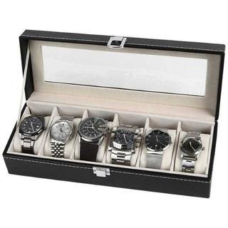売れてます♪腕時計収納ケース腕時計収納ボックスコレクションケース6本用(その他)