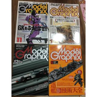 モデルグラフィックス 4冊セット(プラモデル)
