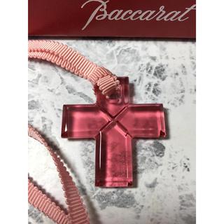 バカラ(Baccarat)のBaccarat バカラ ローマンクロス チョーカー 十字架 未使用品(ネックレス)