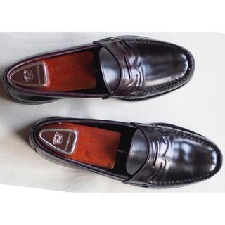 オールデン(Alden)の【レア 美品】Vintage Nettleton コードバン ローファー(ローファー/革靴)