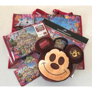Disney - ミッキーパン ランチケース& イマジニングザマジック4点セット トータル5点!!