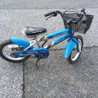 14インチ  子供 自転車 前ブレーキ弱い タイヤ劣化 引き取り限定(自転車)