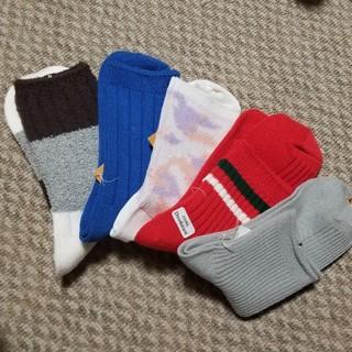 クツシタヤ(靴下屋)のカジュアル系靴下5枚セット(ソックス)