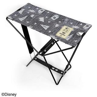 ディズニー(Disney)のミッキー  折りたたみ椅子 アウトドアチェア(テーブル/チェア)