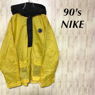 NIKE - 美品 90's NIKE ナイロンジャケット プルオーバー