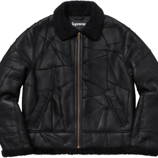 Supreme - 定価以下! Supreme patchwork shearling B-3