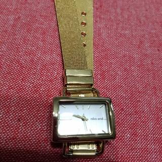ニコアンド(niko and...)の【週末限定値下げ】ニコアンド 金色の時計(腕時計)