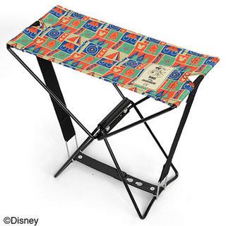 ディズニー(Disney)のミッキー 折りたたみ椅子(折り畳みイス)