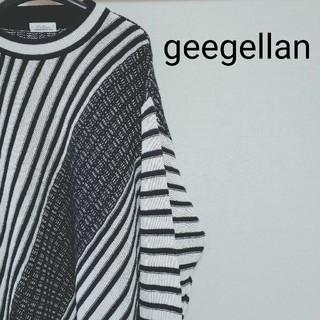ジーゲラン(GEEGELLAN)のgeegellan  ジーゲラン ニット (ニット/セーター)