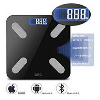 Bluetooth体重計 体祖計 ダイエット アプリ連動(体重計)