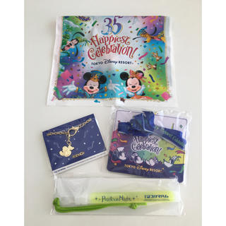 ディズニー(Disney)の非売品☆ディズニー×プリマハム プレシャスナイト限定 パスケース バッグチャーム(ノベルティグッズ)