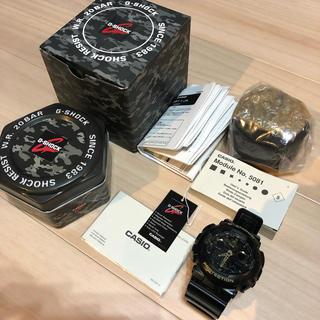 ジーショック(G-SHOCK)のG-SHOCK  GA-100CF  カモフラージュ 迷彩 本物       (腕時計(デジタル))