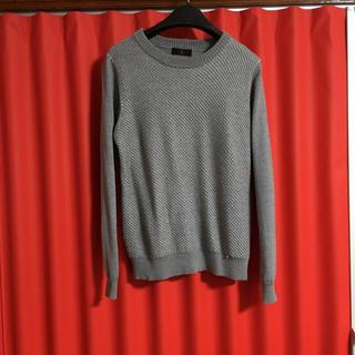 イネド(INED)のイネド セーター  グレー サイズは40(ニット/セーター)