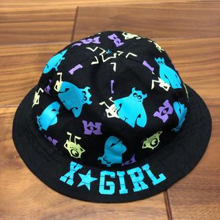 エックスガールステージス(X-girl Stages)のx-girlstages モンスターズインク コラボ 帽子(帽子)