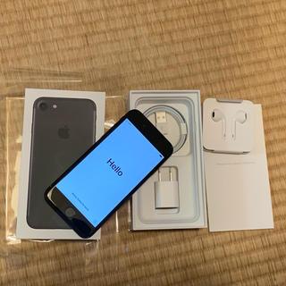 iPhone - 美品 iPhone 7 256GB ブラック SIMフリー