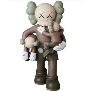 MEDICOM TOY - KAWS CLEAN SLATE BROWN