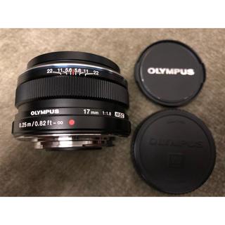 オリンパス(OLYMPUS)の極美品 オリンパス olympus m.zuiko 17mm F1.8(レンズ(単焦点))