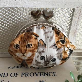 リアル猫 がま口財布(財布)