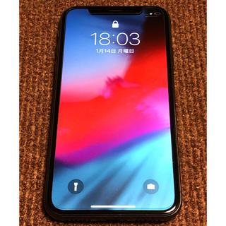 iPhone - iPhone X 【本体】64GB docomo スペースグレー