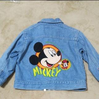 Disney - ミッキー Mickey デニム ジャケット Disney ディズニー アウター