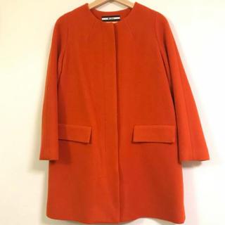ZARA - オレンジ コート