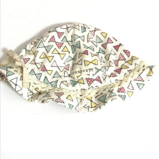 シマムラ(しまむら)のベビー リボン柄ハット(帽子)