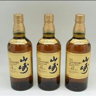 サントリー(サントリー)の山崎12年 700ml 3本セット(ウイスキー)