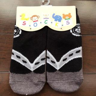 足袋風靴下  男の子  黒  9〜12㎝(靴下/タイツ)