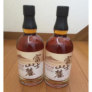 富士山麓 樽熟原酒50° ウイスキー(ウイスキー)