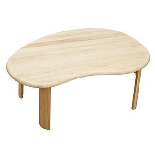 ウッディテーブルビーンズ90×60cm ナチュラル(ローテーブル)