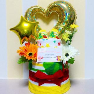 ●おむつケーキ はらぺこあおむし豪華2段 出産祝いに大人気!(その他)
