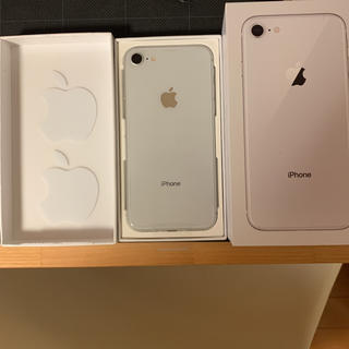 Apple - 新品 iphone8 シルバー 256GB