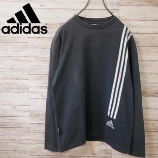 アディダス(adidas)のAdidas シルバーライン ワンポイントロゴ カットソー 長袖Tシャツ ロンT(Tシャツ/カットソー(七分/長袖))