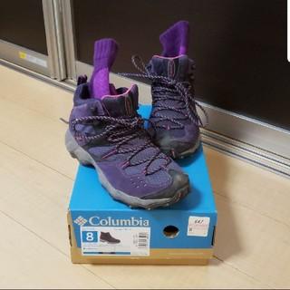 コロンビア(Columbia)のコロンビア トレッキング シューズ 25 スポーツソックス (登山用品)