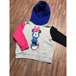 ディズニー(Disney)のユニクロ UT Disneyパーカー 110(Tシャツ/カットソー)
