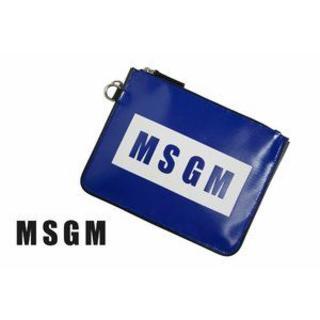 エムエスジイエム(MSGM)のC661 MSGM ミラノ限定★直接買付 多用途 クラッチバッグ ネイビー (セカンドバッグ/クラッチバッグ)