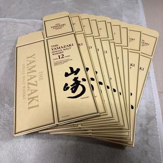 サントリー(サントリー)の山崎12年カートン10枚セット箱のみ(ウイスキー)