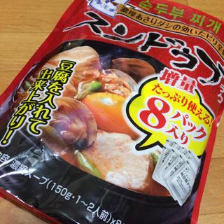 コストコ(コストコ)の李王家 スンドゥブチゲ  4パック(インスタント食品)