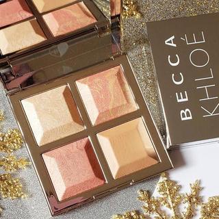 カイリーコスメティックス(Kylie Cosmetics)のbecca ベッカ クロエ マリカ コラボ パレット ハイライト チーク bff(チーク)