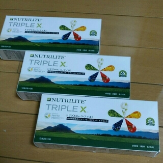 トリプルX 3箱(ビタミン)